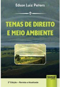 Livro - Temas de direito e meio ambiente